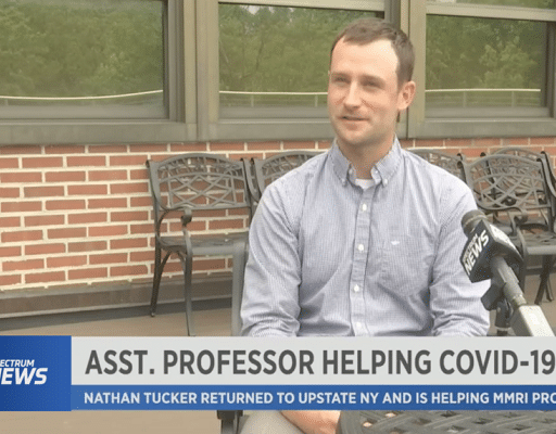 Assistant Professor in Utica Helping COVID-19 Response